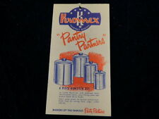 Vintage Kromex Aluminum Pantry Partners Brochure Matched Kitchen Housewares A60b