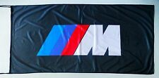 BMW FLAG M SERIES BLACK - SIZE 150x75cm (5x2.5 ft) - BRAND NEW