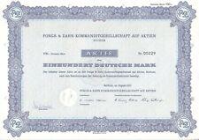 Pongs & diente AG 100dm bochum 1972