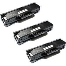 3/Pack Toner Cartridge for Samsung MLT-D101S ML-2165W SCX-3405 SCX-3405FW
