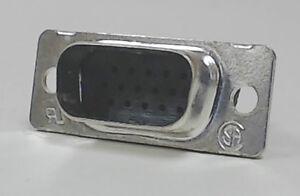 Screened HD 15 WAY D Type connector Crimp Socket shell RS No. 270-9743 VGA Data