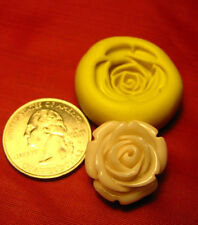 Mini  Rose Flower Silicone Mold Gumpaste Fondant isomalt polymer clay  416