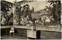 Rudolstadt DDR AK 1965 bemalte Wandbespannung vier Jahreszeiten staatl. Museum