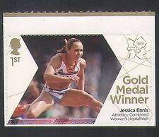 GB 2012 Olympics/Sports/Gold Medal Winner/Jessica Ennis/Athletics 1v s/a n35455