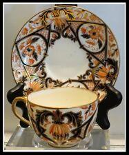 Antique Thomas Bevington of Hanley Staffordshire Imari Porcelain Cup n Saucer