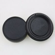 For Nikon Camera Lens Rear Cap+Camera Body Cap DSLR Nikon AF AF-S Lens DSL CA