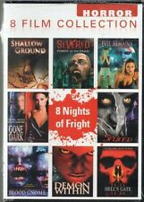 Horror: 8 Film Collection (DVD, 2012, 4-Disc Set) NEW