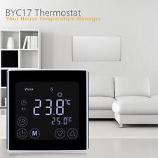Floureon C17.gh3 pantalla LCD Calefacción termostato con semanal Programación