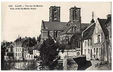 CPA 02 - LAON (Aisne) - 3211. Vue sur St-Martin