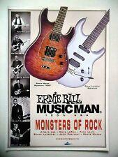 PUBLICITE-ADVERTISING :  Guitares MUSIC MAN 12/2005 Albert Lee,DaveLaRue,T.Levin