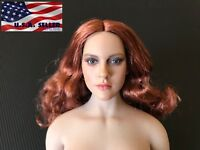 """1/6 European American Female Head For 12"""" Hot Toys PHICEN Figure ❶USA IN STOCK❶"""
