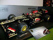 F1 LOTUS RENAULT E21 Raïkkönen #7 GP AUSTRALIE 2013 o 1/18 MINICHAMPS 110130107