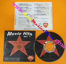 CD Compilation MAX FACTOR MOVIE HITS VOL 1 Forrest Gump Grease PROMO no dvd(C24)
