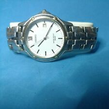 Vintage Seiko Stainless 50m 7N32-0049 New Battery Very Nice Lot A11