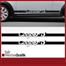 Aufkleber/ Sticker/ Seitenbeschriftung / Dekor/ Mini Cooper / #082