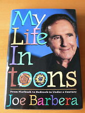 Joe Barbera ' My Life In 'toons '     Signed  1st Edition.    NM