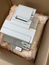 Epson Tm H5000ii M128c Pos Thermal Receipt Printer Amp Check Reader Serial 21c