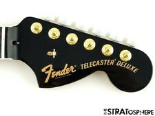 Fender American Parallel Universe Troublemaker Tele NECK w/ TUNERS USA C, Ebony