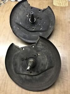 Vw Type 3 Front Disc Brake Spindles And Back Plates Fast Square Notchback T34