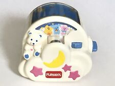Vintage Playskool Bear Musical Light Projector For Baby, Works Great