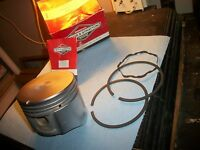 "BRIGGS&STRATTON ""PISTON ASSEMBLY"" #391287,1 BROKEN RING,NO PIN {SEE PICS}"