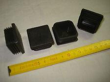 4 embouts carrés à insérer 40 mm à ailettes (réf C5) chaise, meuble...