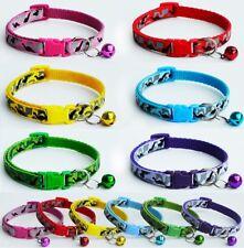 Dog Collar Nylon Clip Camo Army Puppy Small XS Tiny Strong Tough UK Black Pink