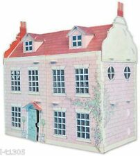 Build Your Own Victorian Dolls House Kit Press Out Colour In and Build BYO