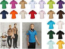 Damen Kurzarm Bluse Business Pflegeleicht bis 54(6XL) Übergrösse Popeline