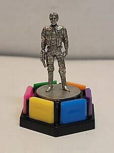 1998 Han Solo Trivial Pursuit Star Wars Pewter Token Replacement - BB72