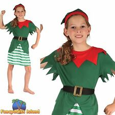 Complete Outfit Christmas Synthetic Fancy Dresses for Girls