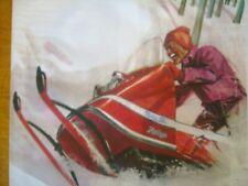 1969 Vintage MOTO SKI Snowmobile Brochure MS18 All Models
