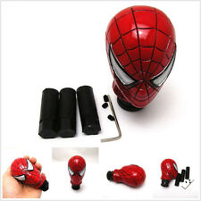 Car SpiderMan Manual/Automatic Gear Knobs Shift Gearstick Shifter button cover