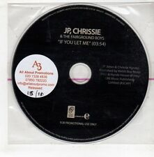 (GX760) JP Chrissie & The Fairground Boys, If You Let Me - DJ CD