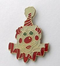 RED NOSE FUNNY PARTY CLOWN CIRCUS CARNIVAL LAPEL PIN BADGE 1 INCH