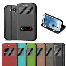 Case for Samsung Galaxy S3 / S3 NEO Phone Cover Viewing Windows Wallet Book