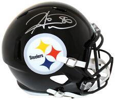 Hines Ward Autographed/Signed Pittsburgh Steelers Speed Replica Helmet Bas 24222