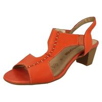 Remonte Dorndorf R9252 Ladies Red Slingback Summer Casual Sandals