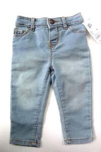OshKosh B'gosh Baby Girls' Denim Jeans Pants Light Blue size 9M