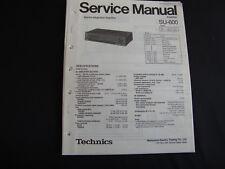 ORIGINAL SERVICE MANUAL TECHNICS Amplifier su-600