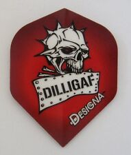 "Designa DSX Collection Extra Strong Dart Flights ""Dilligaf"""