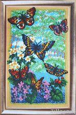 Butterfly Schmetterling Stickpackung Stickbild Stickset Perlen im Kreis 172
