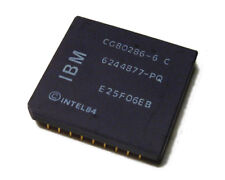 CG80286-6C INTEL 286 6MHZ GOLD PGA PROCESSOR
