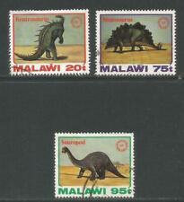 Malawi 1993 Dinosaurs--Attractive Science Topical (620-22) used