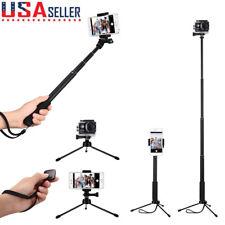 Extendable Selfie Stick Monopod Remote Bluetooth Shutter Tripod for iPhone 6s 7
