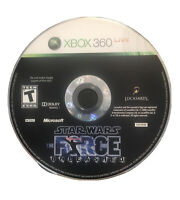 Star Wars The Force Unleashed Xbox 360/One Game Disc Only 13b I