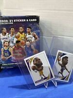 2020-21 Panini NBA Drawing Player Stickers cards YOU PICK FREE SHIP CAN+USA 🔥⬆️