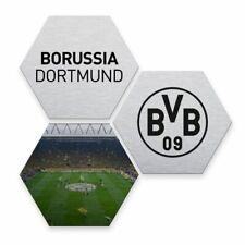 Kuschelkissen Borussia Dortmund Kissen Skyline Plus Lesezeichen I Love Dortmund Dekokissen BVB 09