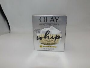 Olay Total Effects WHIP Finish Active Moisturizer SPF 25 1.7oz (New)