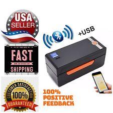 Beeprt4x6thermal Shipping Label Barcode Printer Usbbluetooth Label Holder Free
